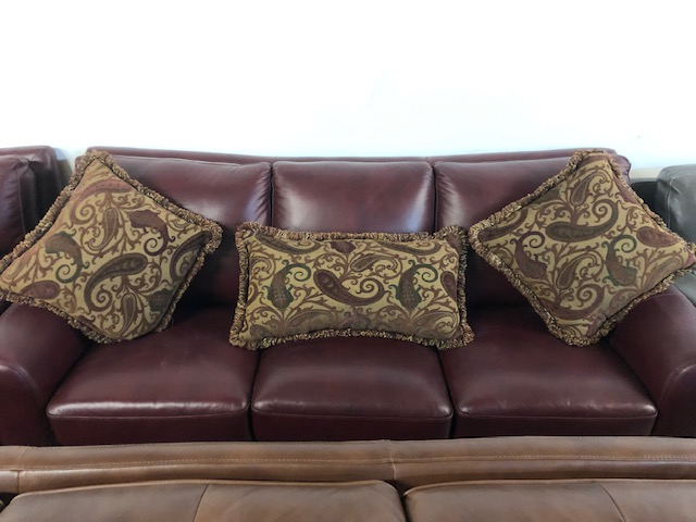 3 Piece Leather Sofa Set 700 00 Brick And Mortar